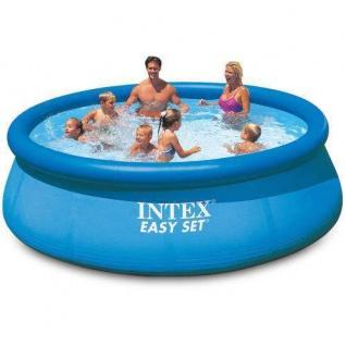 Intex Easy Set Pool 366 x 76 cm Quick up Pool (28130) Planschbecken