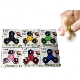 Fidget Finger Spinner / Fingerkreisel Anti - Stress Farbwahl