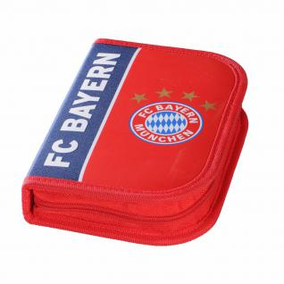 FC Bayer München Etui / Schuletui Federmäppchen blau / rot