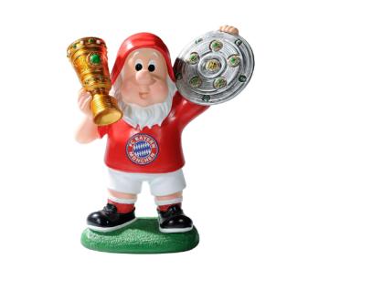 FC Bayern München Zwerg / Gartenzwerg *** Erfolge *** Double