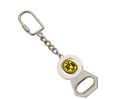 BVB Borussia Dortmund Schlüsselanhänger mit Flaschenöffner