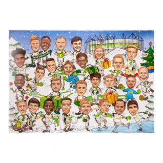 Vfl Borussia Mönchengladbach Adventskalender *** Comic *** 75 g 185460