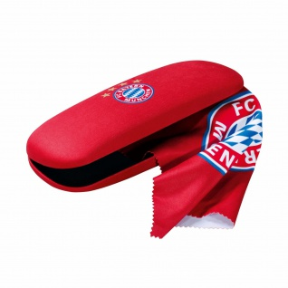 FC Bayern München Brillenetui incl Brillenputztuch