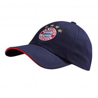 Fc Bayern München Kappe / Cap / Baseballcap ** Logo navy ** 20469