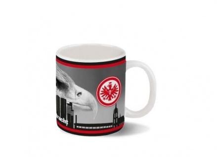 Eintracht Frankfurt Tasse / Kaffeetasse *** Adler über Skyline ***