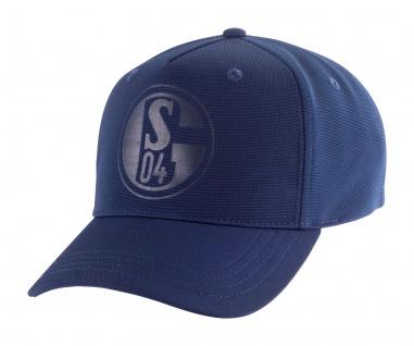 FC Schalke 04 Mütze / Kappe / Cap ** Logo Prägung KIDS ** Marine