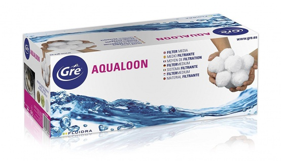 AQUALOON Filter Balls 700g altern. zu 25 kg Filtersand Quarzsand (Pool)