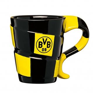 """BVB Borussia Dortmund Tasse / Kaffeebecher Motiv """" Schal """" Neu"""