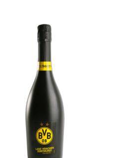 BVB Borussia Dortmund Fan-Secco Sekt Lass Krachen Dortmund