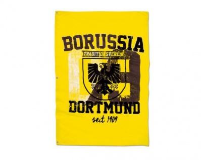 "BVB Borussia Dortmund Hissfahne / Fahne / Flagge "" Stadtwappen "" 150x 100 cm"