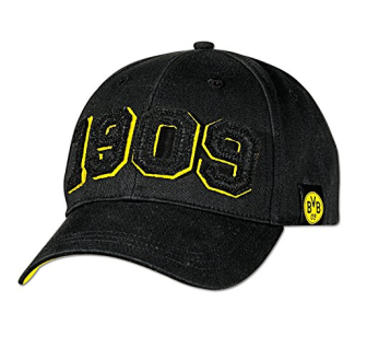 BVB Borussia Dortmund Cap / Kappe ** 1909 schwarz ** 15273500