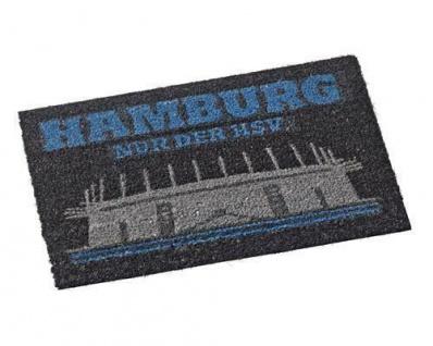 HSV Hamburger Sportverein Fußmatte / Türvorleger *** Stadion ***