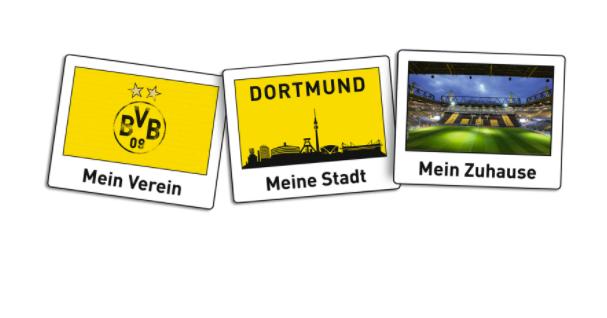 Bvb Borussia Dortmund Aufkleber Polaroid