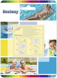 Bestway Flicken / Reparaturflicken ** Pool Reparatur Set ** 10er - Pack 62068