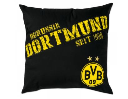 "BVB Borussia Dortmund Kissen schwarz "" NULLNEUN"