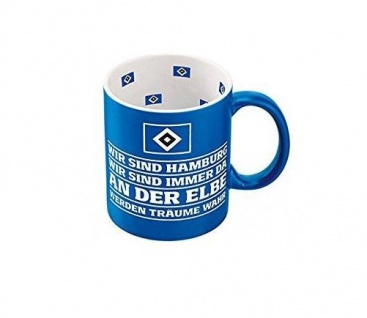 HSV Hamburger SV Tasse / Kaffeebecher ** Hymne ** 29334