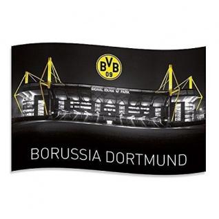 "BVB Borussia Dortmund Hissfahne / Fahne / Flagge "" Signal Iduna "" (2 Ösen )"