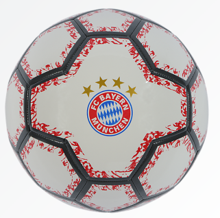 FC Bayern München Ball Weiß