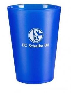 """FC Schalke 04 """" Zahnputzbecher blau"""