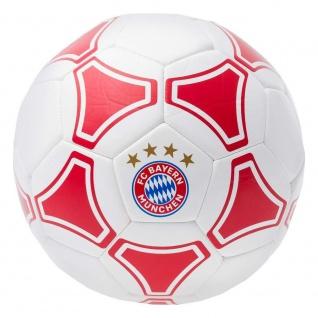 FC Bayern München Ball / Fussball / Fußball ** rot / weiß ** 23140 Gr. 5