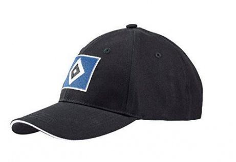 "HSV Hamburger Sportverein Kappe / Cap "" Raute "" Baseballcap schwarz"