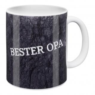 FC Schalke 04 Tasse / Kaffeebecher ** Bester Opa ** Bergbau Schacht Design