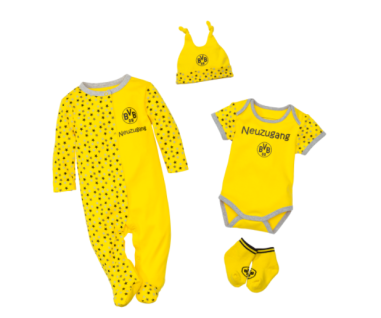 "BVB Borussia Dortmund Baby - Geschenkbox "" Neuzugang"