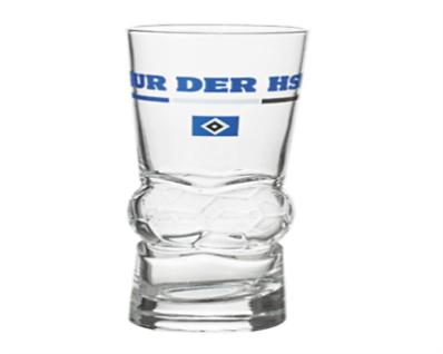HSV Hamburger SV Glas *** Fußball *** NUR DER HSV *** 29757