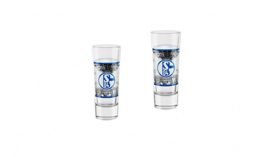 FC Schalke 04 Schnapsglas 2 er Set ** Stadion ** 11414