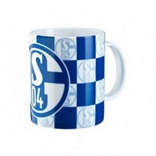 FC Schalke 04 Tasse / Kaffeebecher Karo