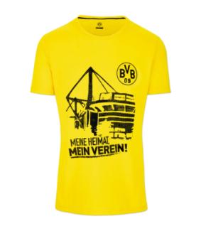 BVB Borussia Dortmund Shirt / T-Shirt ** Meine Heimat ** 18210202