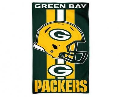 Green Bay Packers Duschtuch / Strandtuch ** Helm mit Streifen ** A1874517