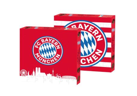 FC Bayern München *** Pralinen + Puzzle ***