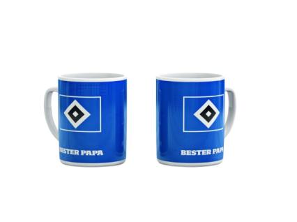 HSV Hamburger Sportverein Tasse / Kaffeebecher ***Bester Papa ***