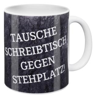 FC Schalke 04 Tasse / Kaffeebecher ** Tausche Schreibtisch gegen Stehplatz ***
