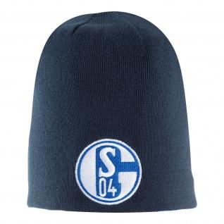 FC Schalke 04 Wendemütze Marine / Königsblau KIND / KIDS / KINDER