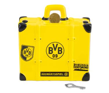 BVB Borussia Dortmund Soundspardose / Spardose *** Koffer *** 18400500