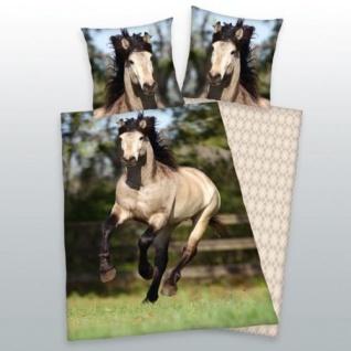 Herding Pferde Bettwäsche 135x200cm / 80x80 cm
