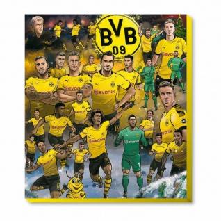 BVB Borussia Dortmund Adventskalender ** Comic ** 2019 inkl. Gutschein