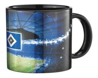HSV Hamburger SV Tasse / Kaffeebecher *** Metallic ***
