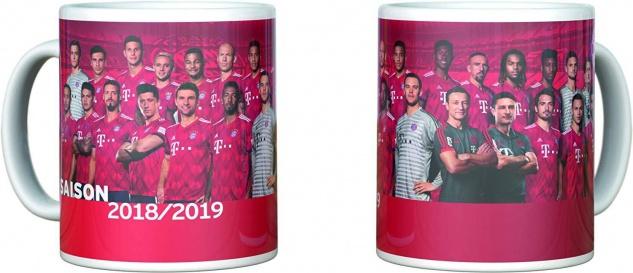 FC Bayern München Tasse *** Team 2018 /2019 *** 22839