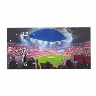 FC Bayern München *** Wanduhr / Uhr Allianz Arena *** 70 x 35 cm 21782