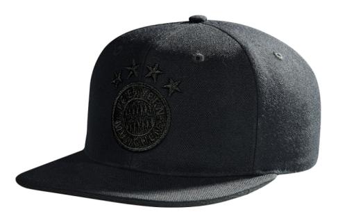 FC Bayern München Kappe / Cap ** Snapback Emblem schwarz ** 21630