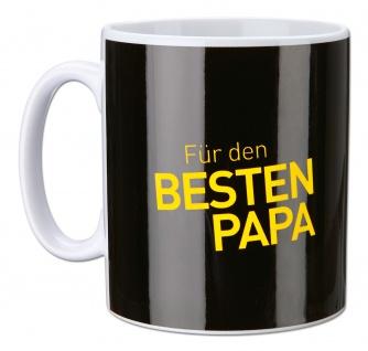 """BVB Borussia Dortmund Tasse / Kaffeebecher """" Für den besten Papa"""