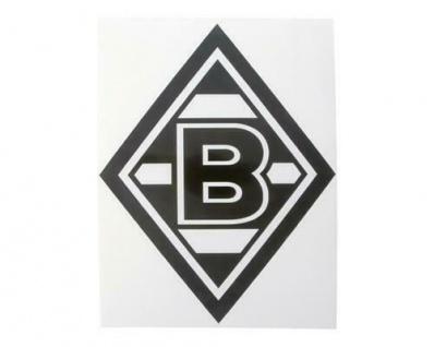 Vfl Borussia Mönchengladbach Aufkleber Schwarz 12 5 X 20 Cm 98569