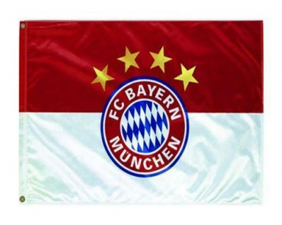 "FC Bayern Hissfahne / Fahne / Flagge "" LOGO "" 90 x 60 (2 Ösen)"