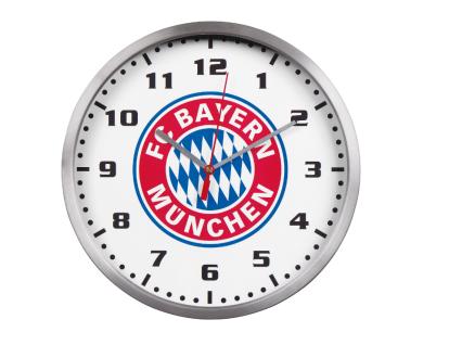 FC Bayern München Wanduhr / Küchenuhr / Uhr