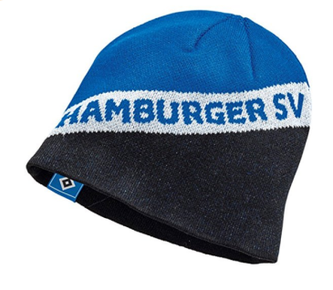 HSV Hamburger Sportverein Mütze *** HSV *** Strickmütze Hamburger SV