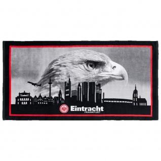 Eintracht Frankfurt Strandtuch / Duschtuch *** Skyline ***