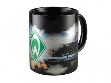 """Werder Bremen Tasse/ Kaffeebecher """" Stadion """" Metalic"""
